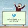 Allen Solly Twitter Billboard Yarışması