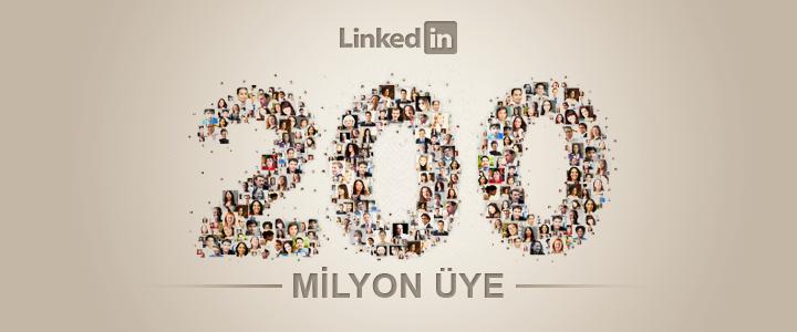 Linkedin Üye Sayısı 200 Milyon'a Ulaştı