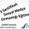 3 Sertifikalı Sosyal Medya Sertifika Programı