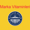 Kadir Has Üniversitesi Beslenme Saati Programları: Marka Vitaminleri