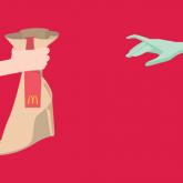 McDonald's Basılı Reklam Kampanyası: Delivering What You Love