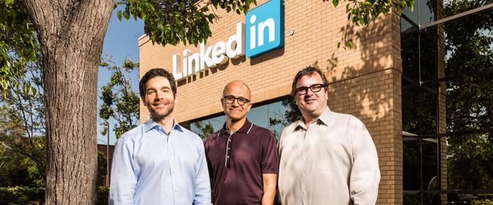 Microsoft Linkedin'i 26.2 Milyar Dolara Satın Aldı!