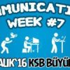 Communications Week #7