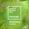 Pantone 2017 Yılının Rengini Açıkladı: Greenery