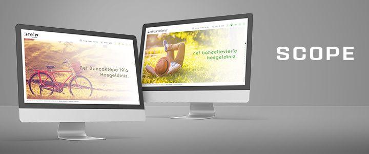 Nef'in Dijital Projelerine Scope Dokunuşu