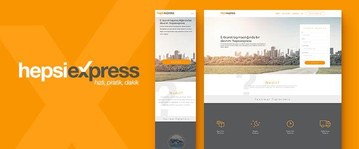 Hızlı Teslimat Girişimi HepsiExpress'in Web Sitesi Yayında!