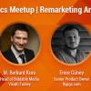 Analytics Meetup'ta Etkin Yeniden Pazarlamanın Sırları Konuşulacak