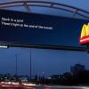 Trafik Sıkışıklığına Göre Değişen İnteraktif McDonald's Billboardu