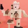 KFC'nin 700 Bin Kişi Tarafından İzlenen Albay Sanders Görünümündeki Kedi Ağacı