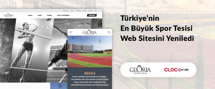 Türkiye'nin En Büyük Spor Tesisi Web Sitesini Yeniledi