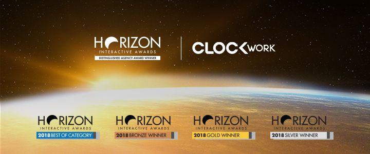 Clockwork'e Horizon Interactive Awards'dan 9 Ödül