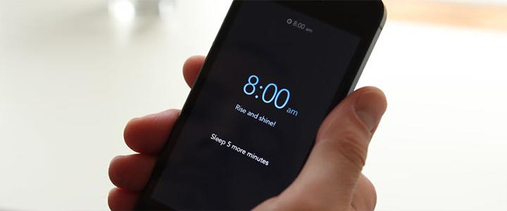 Uyandırma Servisi IPhone Uygulaması: Rise
