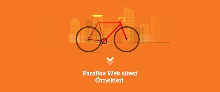 Parallax Scroll Web sitesi Örnekleri