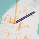 Foursquare Check-in'lerinizi Haritaya Dönüştürün!