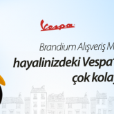 Brandium AVM Vespa Ödüllü Facebook Kampanyası