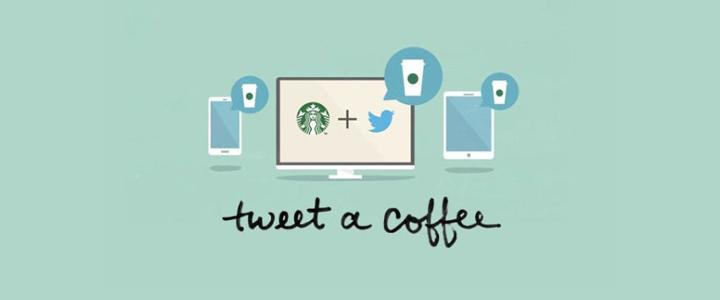 Starbucks Twitter Kampanyası: Tweet A Coffee