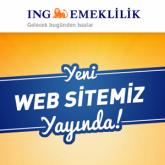 ING Emeklilik Web Sitesi Yenilendi