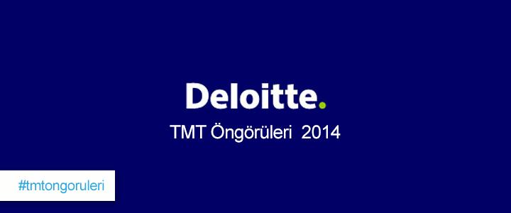 Deloitte TMT Raporu'na Göre 2014 Yılının Trendi Giyilebilir Teknoloji Olacak!