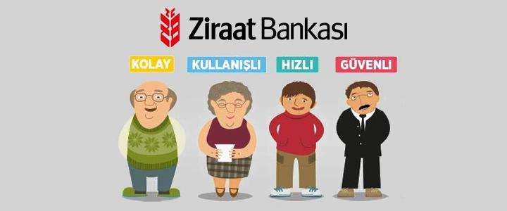 Ziraat Bankası İnternet Şubesi Yenilendi
