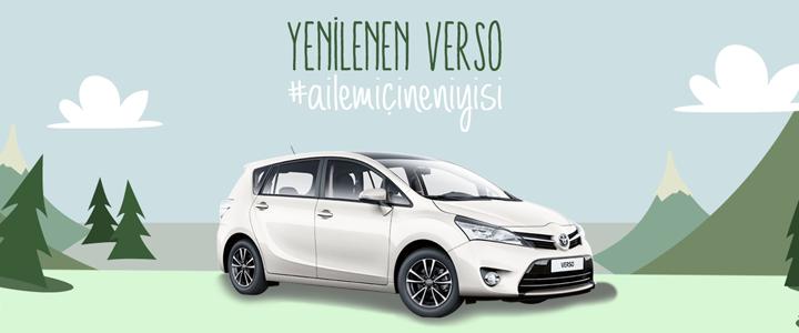 Toyota Yenilenen Verso Web Sitesi