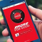 Coca-Cola'dan Mobil Uygulama: İyilik Radarı