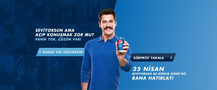 Pepsi Sosyal Medya Kampanyası: Seviyorsan Aç Konuş