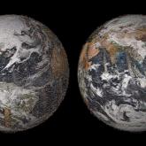 NASA Binlerce Selfie'den Dünya Haritası Oluşturdu