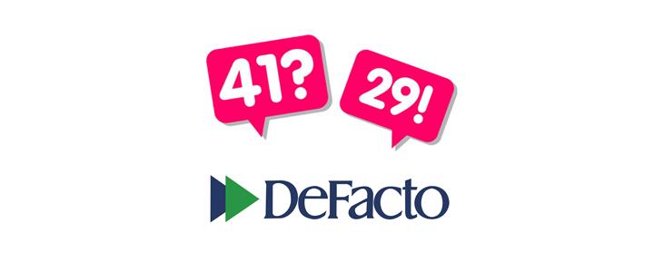 DeFacto'nun Dijital Ajansı 41?29! Oldu