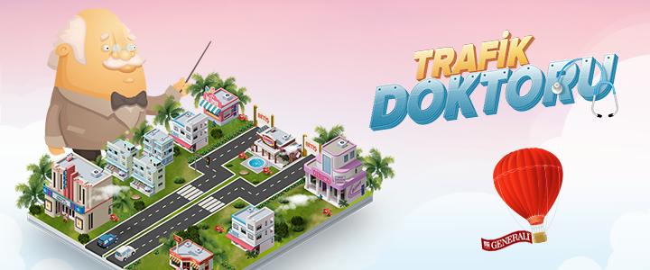 Generali Sigorta'dan MultiPlayer Facebook Oyunu: Trafik Doktoru