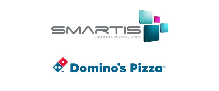 Domino's Pizza Dijital Pazarlama Çalışmaları İçin Smartis Interactive İle Anlaştı!