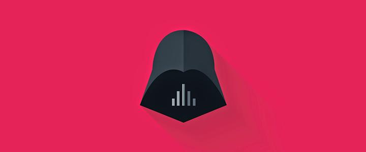 Flat Star Wars İkon Tasarımları