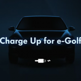 Volkswagen'den E-Golf Uygulaması: Charge Up