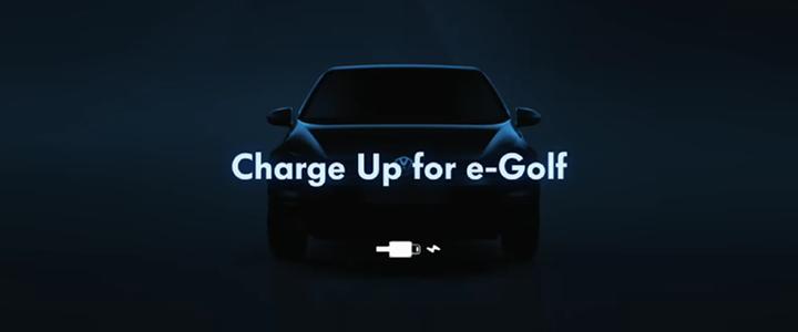 Volkswagen'den E-Golf Uygulaması: Charge Up