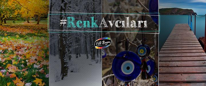 Filli Boya Instagram Kampanyası: #RenkAvcıları