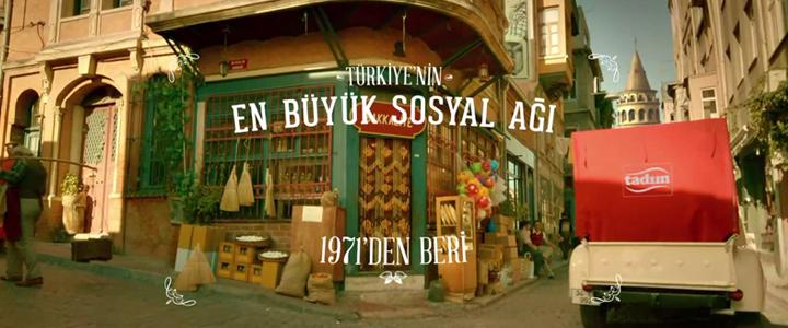 Tadım Türkiye'nin En Büyük Sosyal Ağı Reklamı