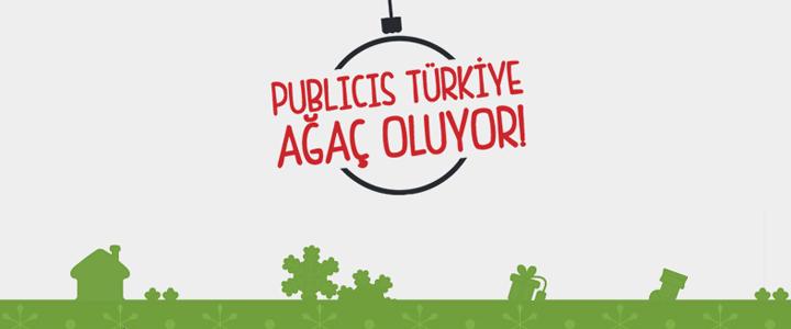 Publicis Türkiye Yılbaşı Kampanyası: #AgacOlanAjans