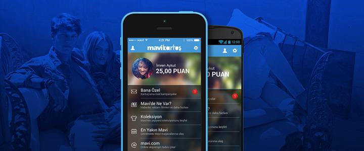 Mavi'den Online Ve Offline'ı Buluşturan Mobil Uygulama: Kartuş