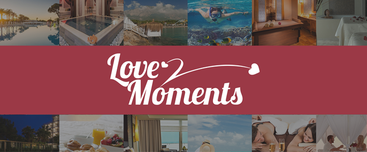 Rixos Hotels Sevgililer Günü Kampanyası: Love Moments