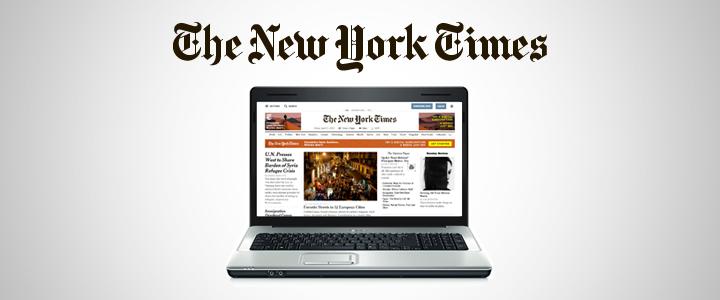 New York Times Dergisi Dijital Görsel Kimliğini Yeniledi!