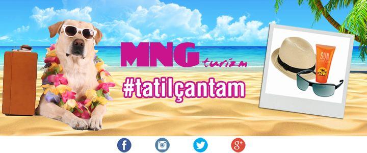 MNG Turizm'den Tatilcilere Özel Kampanya: #TatilÇantam