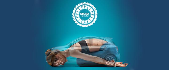 Nissan'dan Yoga Dersleri: Micra Hareketler
