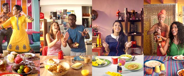 Nescafé'den 360 Derece Facebook Reklamı