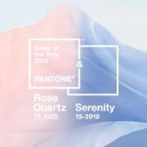 Pantone, 2016 Renklerini Belirledi: Rose Quartz & Serenity