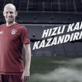 Allianz Türkiye'den Robben'le #HızlıTeklif