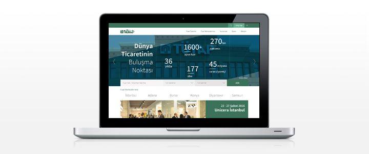 Fuarcılık Devi TÜYAP'ın Yeni Kurumsal Web Sitesi Yayında!