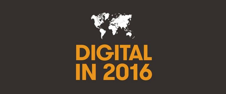 İnternet Ve Sosyal Medya Kullanıcı İstatistikleri 2016