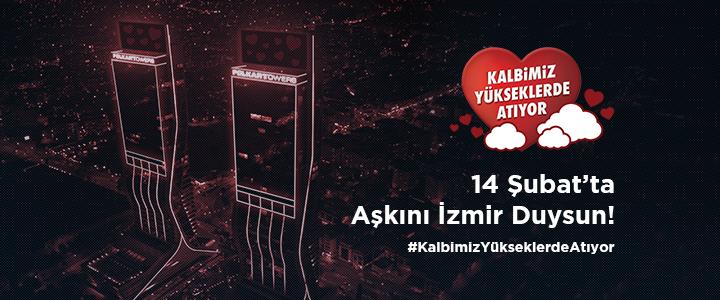 İzmirlilerin Kalbi Folkart İle Yükseklerde Atıyor!