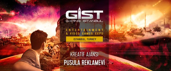 Gaming İstanbul'un Kreatif Ajansı Ankara'dan Pusula Reklamevi