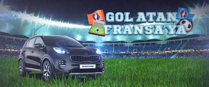 """KIA İle Euro 2016 Heyecanı Şimdi """"Gol Atan Fransa'ya"""" Oyununda!"""