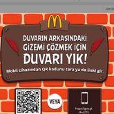 McDonald's'tan Angry Birds Filmi İçin Çift Ekran Uygulaması